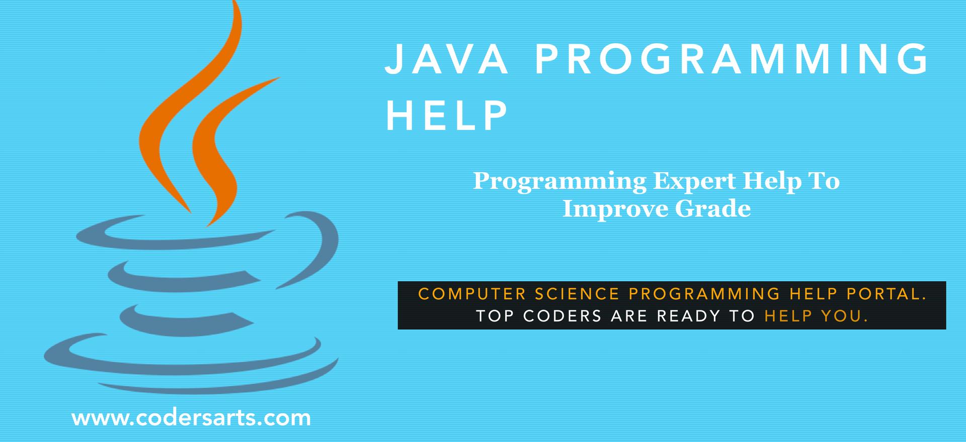 Java Programming Assignment Help Help   Java Programming Expert Help