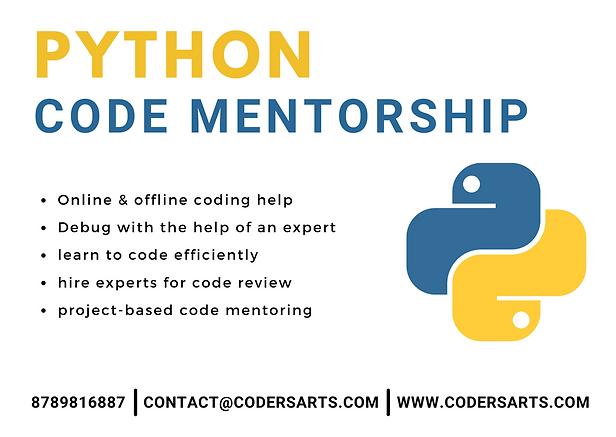 Hire Python Mentor