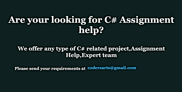 Codersarts-c#-assignment-help-C# project