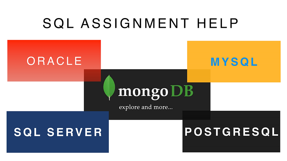 SQL Assignment Help: Oracle, MySQL, SQL Server, PostgreSQL, SQLite,  and MongoDB