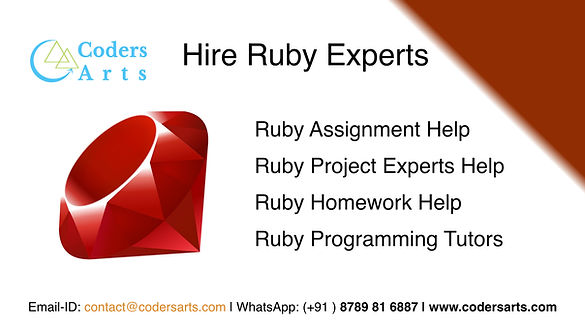 Ruby_Assignment_help_expert_help_codersa