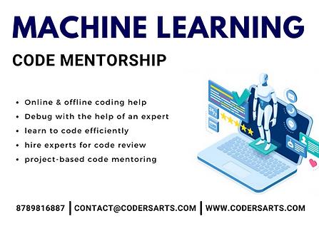 Codersarts Machine learning mentorship.png