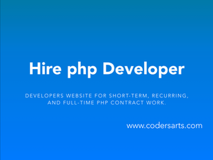 Hire PHP Developers on Codersarts