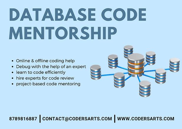 Database Mentorship