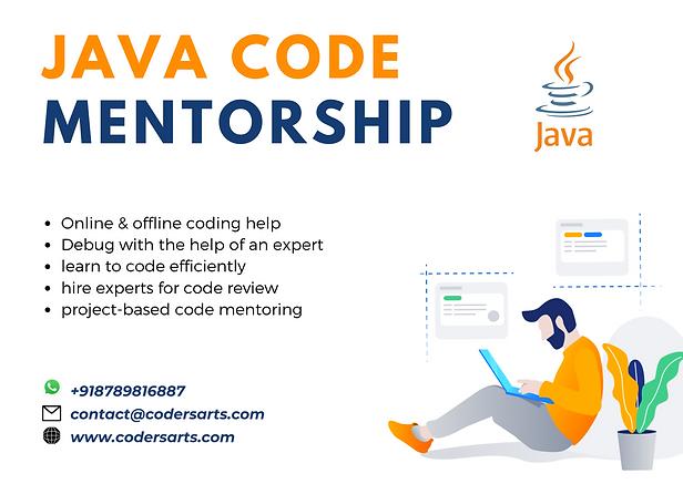 Hire Java Mentors