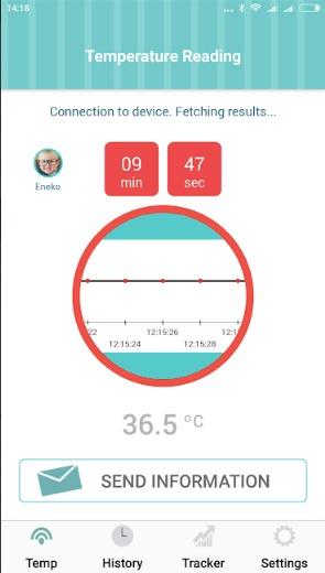 Temperature app analysis