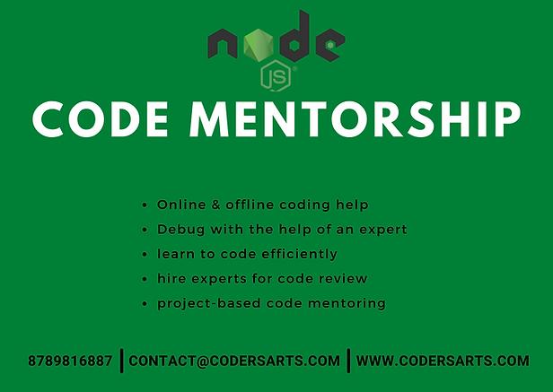 Hire NodeJs Mentor