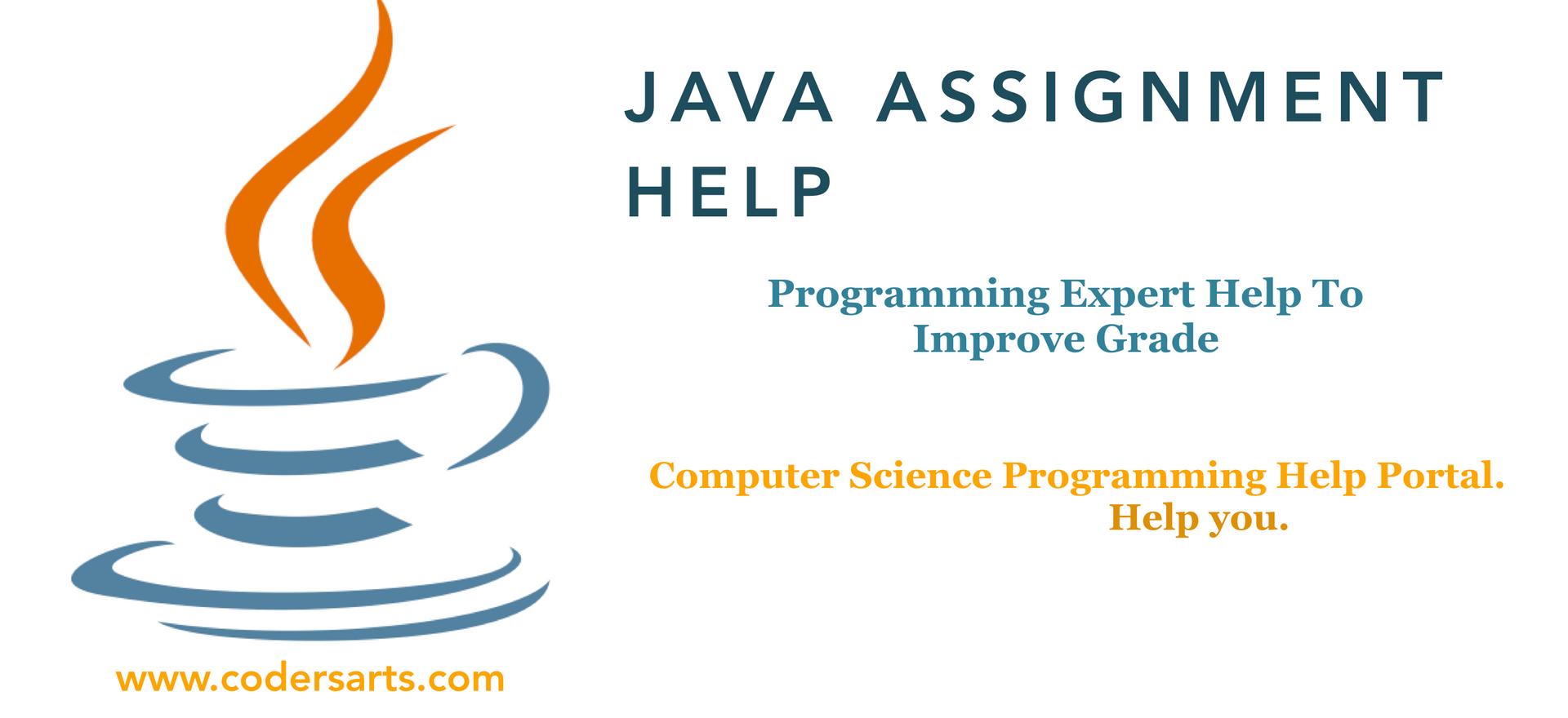 Java Homework Help   Java Assignmnet Help