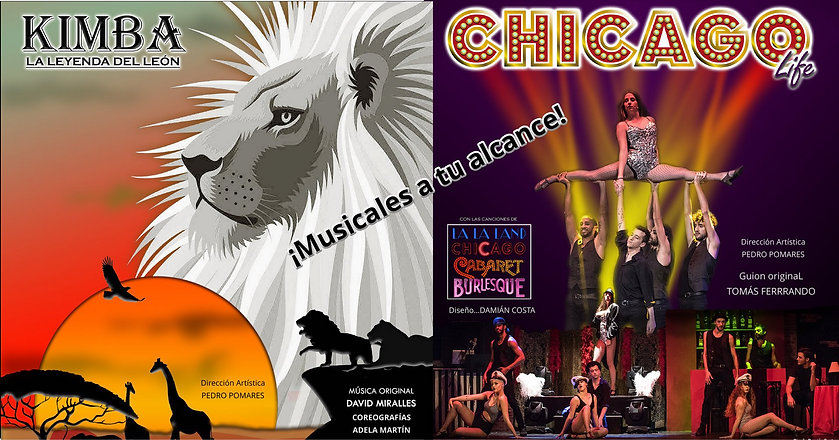 COLLAGE PROMO LEON KIMBA Y CHICAGO LIFE