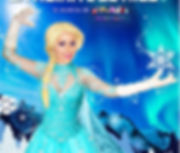 poster con collage la reina del hielo.jp