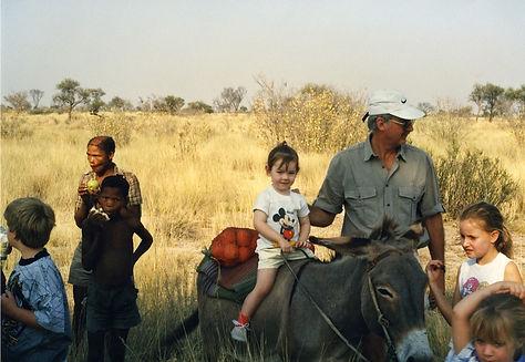 Camping in the Kalahari