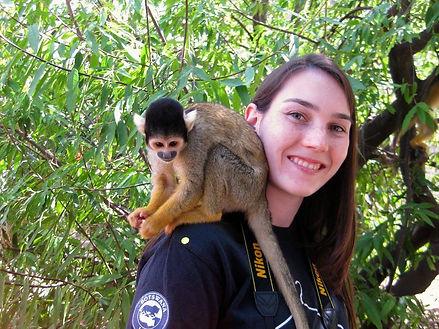 Meeting some monkeys
