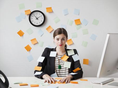 Cinco Dicas Para Aumentar a Produtividade.