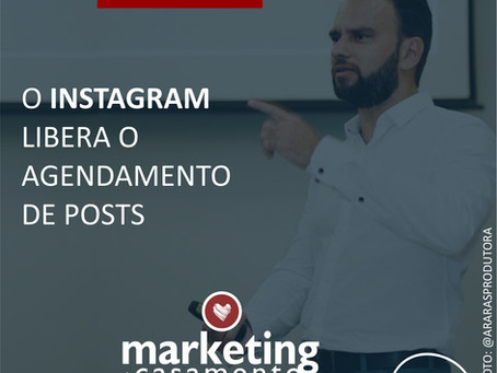 O Instagram libera o agendamento de posts
