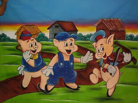 A história dos três porquinhos ... e a sua empresa