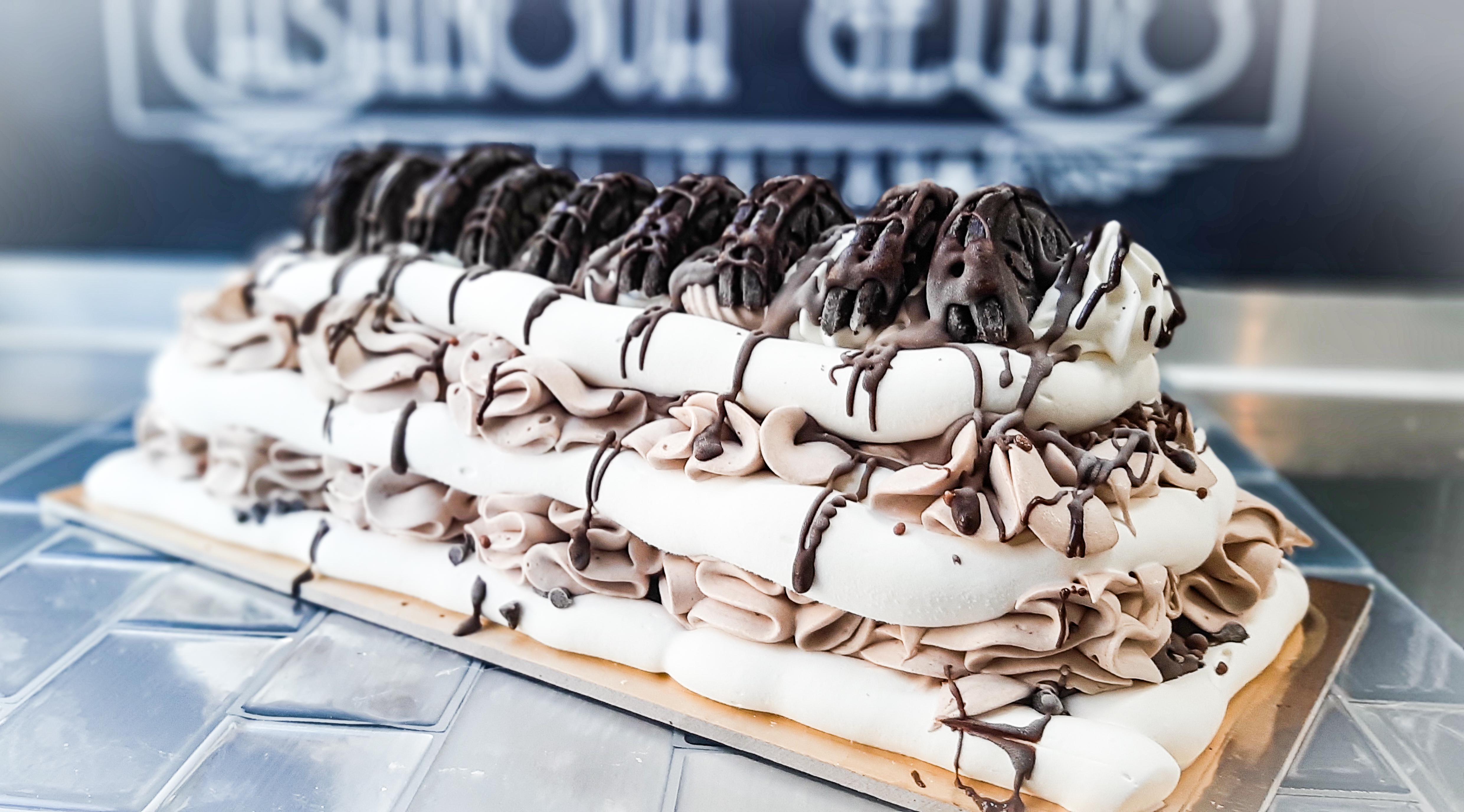 Viennetta Style Cake