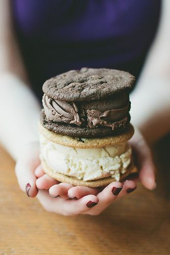 Cookies with Gelato