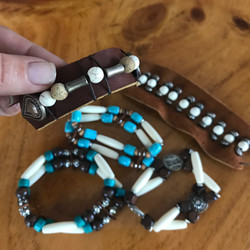 Boho bracelets in our Jewerly page