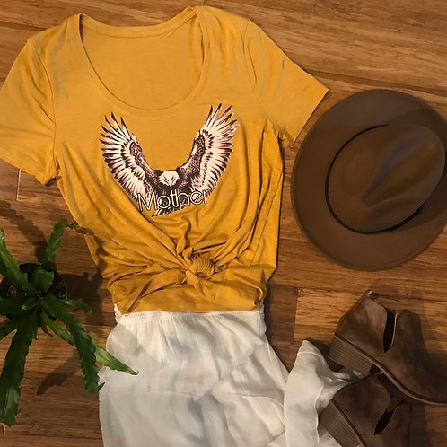 Yellow Mother Eagle Tee