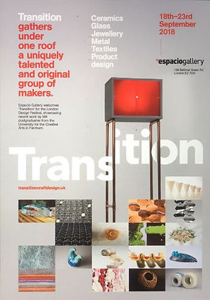 Transition exhibition at Espacio Gallery