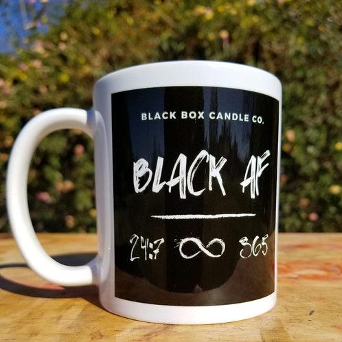 Black AF Mug 11oz