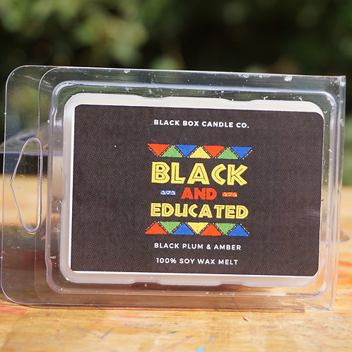 Black and Educated Wax Melts