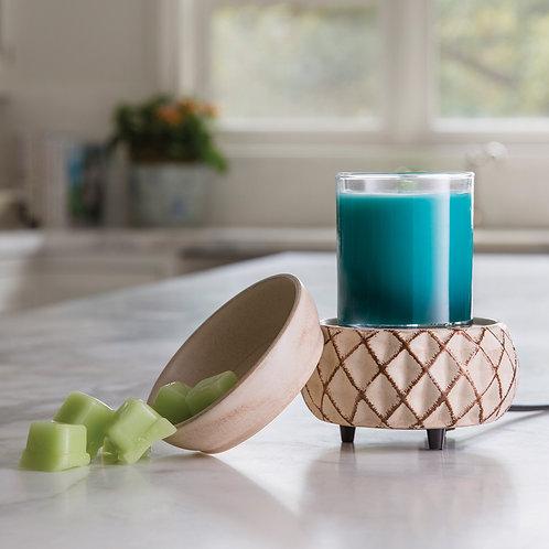 Lattice 2-in-1 Classic Fragrance Warmer