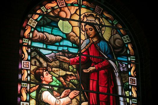 Vitral do Santuário Nossa Senhora do Trabalho