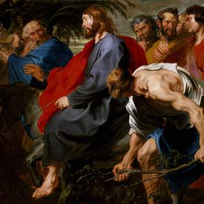 Domingo de Ramos: o caminho para a Paixão