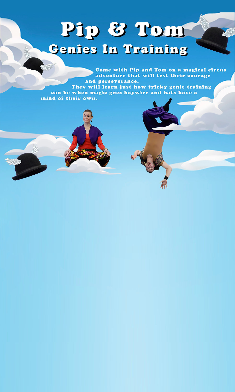 Website background Pip Tom for all episo