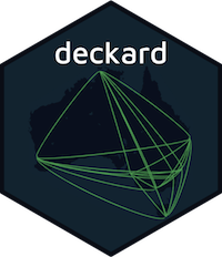 Introducing Deckard for large scale data visualisation