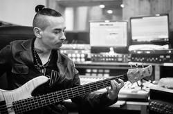 Marco, bassiste et mannequin