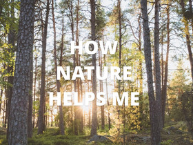 How Nature helps me!