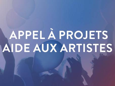 Appel à projet   bourse provinciale à l'attention des artistes investis dans le Hainaut