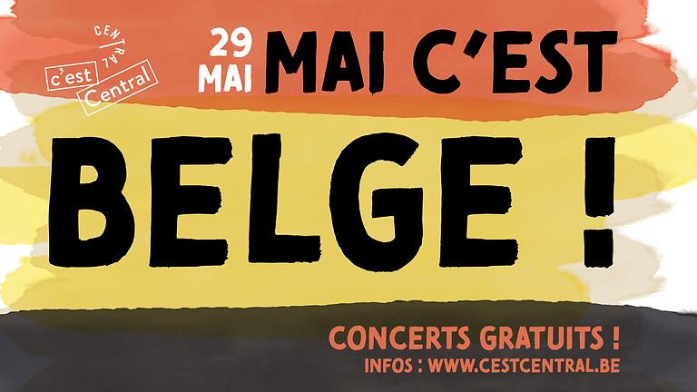 Mai c'est belge : de la musique, des concerts et c'est gratuit !
