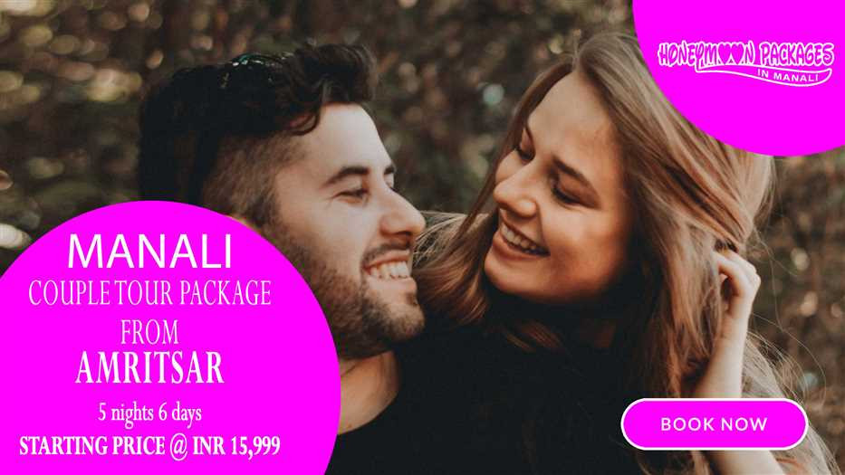Manali tour package from Amritsar