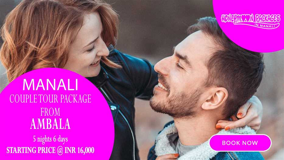 Manali tour package from Ambala