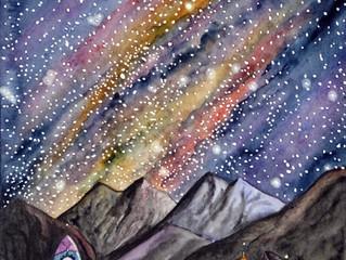 Dans les étoiles - les créations de début 2021