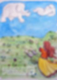 Lucie et le Dragon Nuage - extrait du livre
