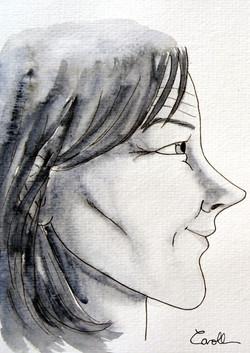 Mercure femme profil