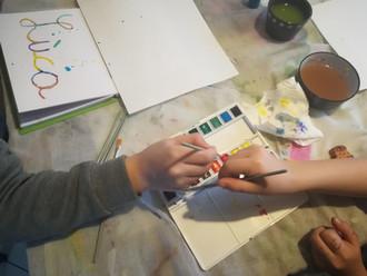 Nouvel atelier : le carnet de croquis fait main (partie 2)