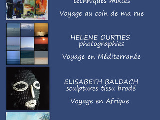 VERNISSAGE à la P'tite Galerie des Miss Terre Rieuse