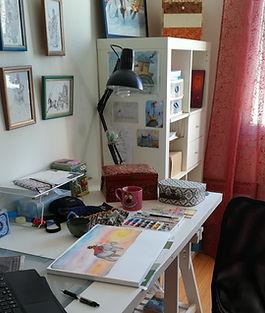 Mon atelier d'artiste - Alice Caroll in Wonderland