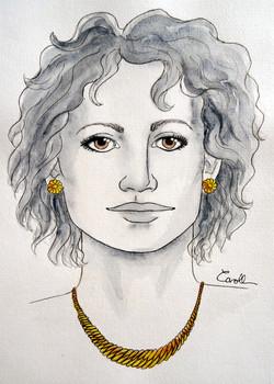 Soleil femme face