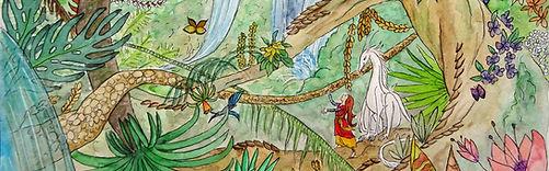 Lucie et le Dragon Nuage - extrait de l'antre du dragon