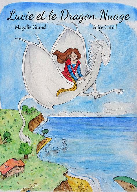 Album jeunesse Lucie et le Dragon Nuage