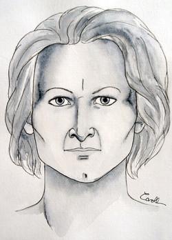 Mars femme face
