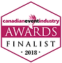 Parlevie is finalist of 2018 Canadian Event Awards for Outstanding Event Logistics