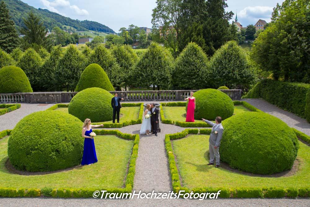 Hochzeit imn Garten