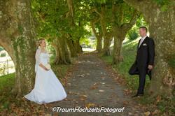 Brautpaar in Baumalle